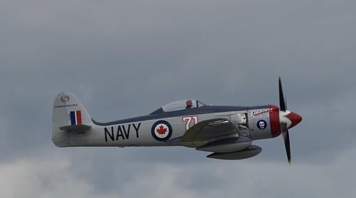 N71GB, 1949 HAWKER SEA FURY FB11,  2019 Duluth Mn (DLH) Air Show