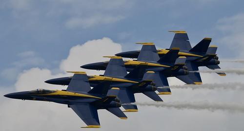 US Navy BLUE ANGELS, Duluth Mn (DLH) 2019 Airshow