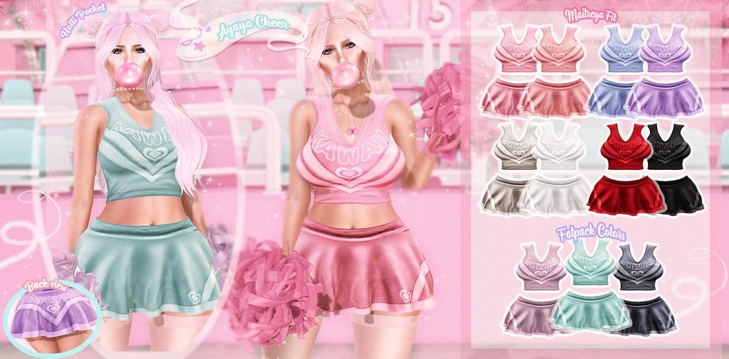 HolliPocket-Ayaya Cheer Outfit Ad