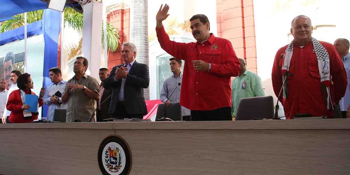 Presidente Nicolas Maduro clausura XXV edición del Foro de São Paulo