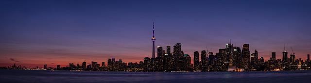 Toronto Panorama from Ward Island