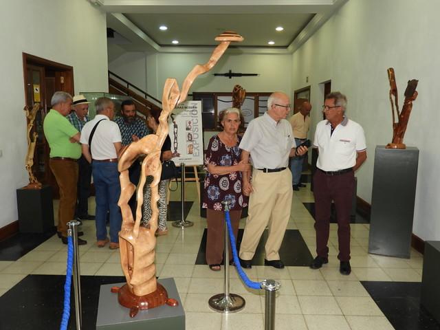 Exposición del escultor Francisco Medina Caraballo