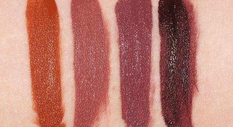 puma x maybelline superstay matte ink lipstick swatches