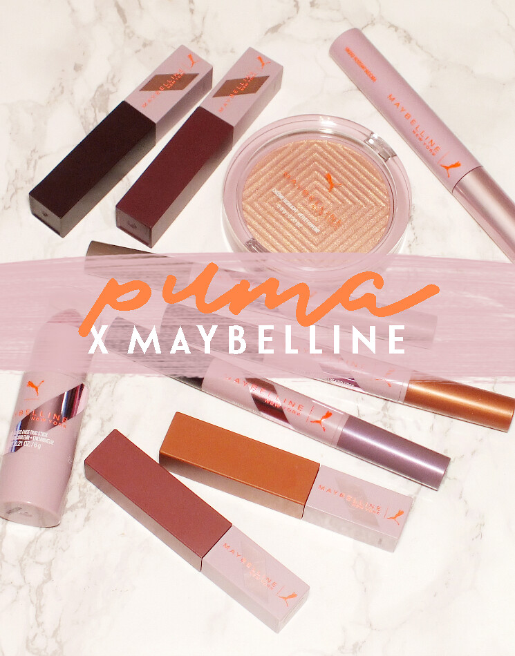 puma x maybelline collection