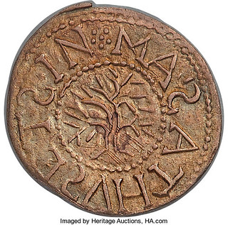 Oak Tree Threepence obverse