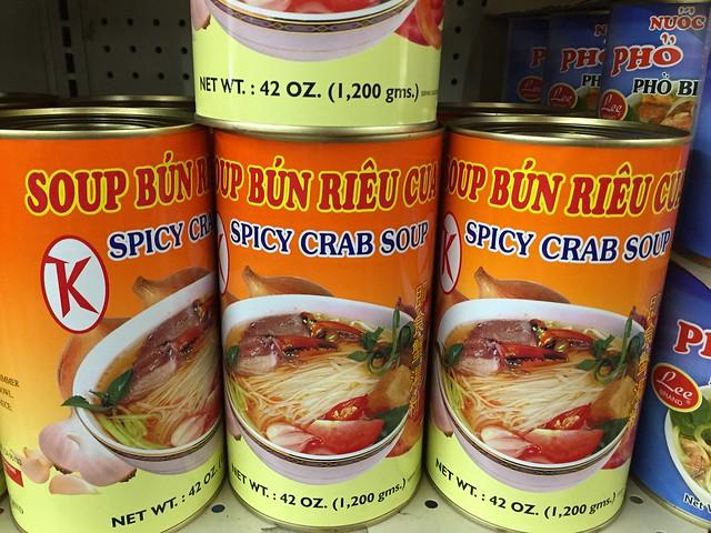 Soup Bun Rieu Ca