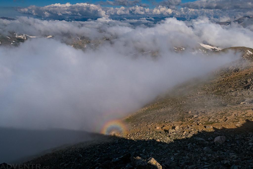 Mount Yale Brocken Spectre