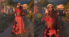 Free ethnic look