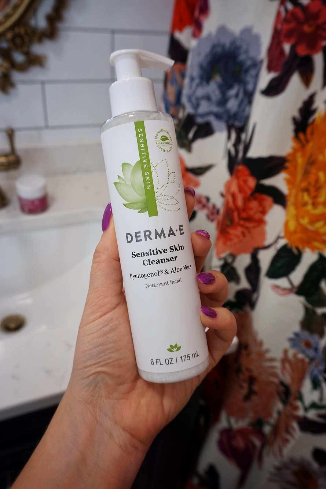 6 Clean Beauty Products That Are Helping Clear my Adult Acne | Derma E Sensitive Skin Cleanser
