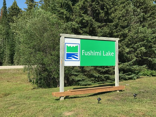 Fushimi Lake Provincial Park - Sign