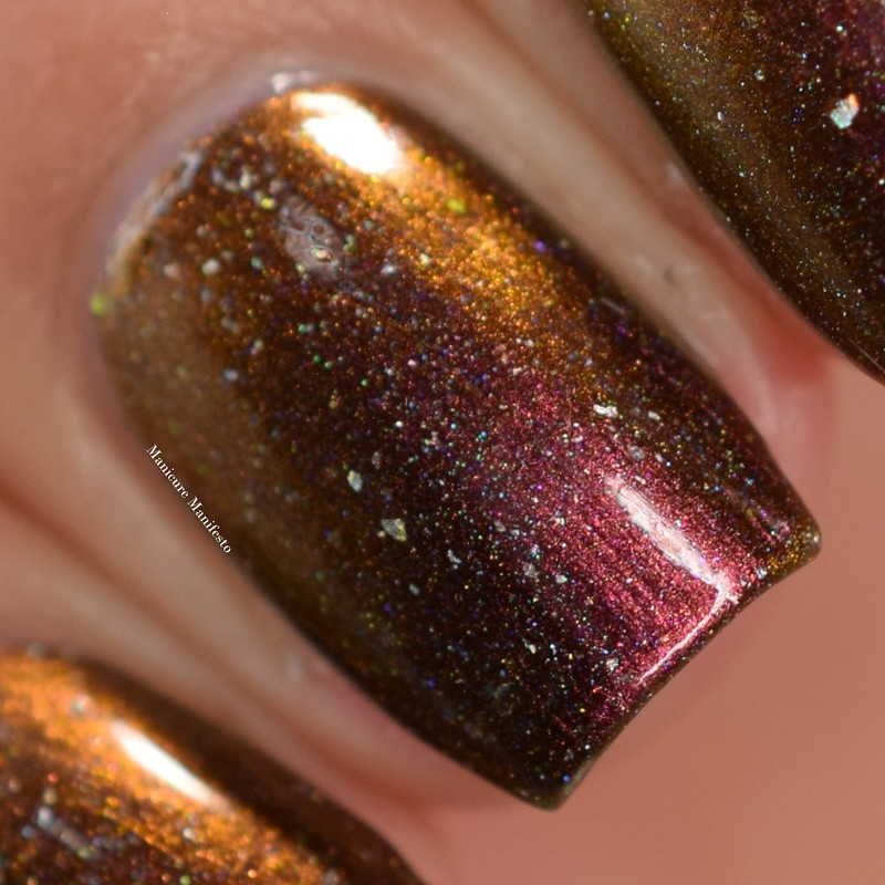 Paint It Pretty Polish I Laugh In The Face Of Danger swatch