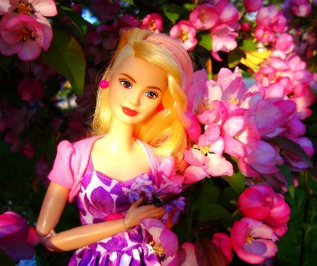 Poppy with Apple Tree #2