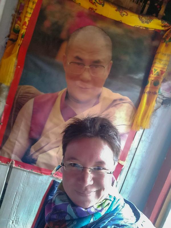 Selfie Dalai Lama
