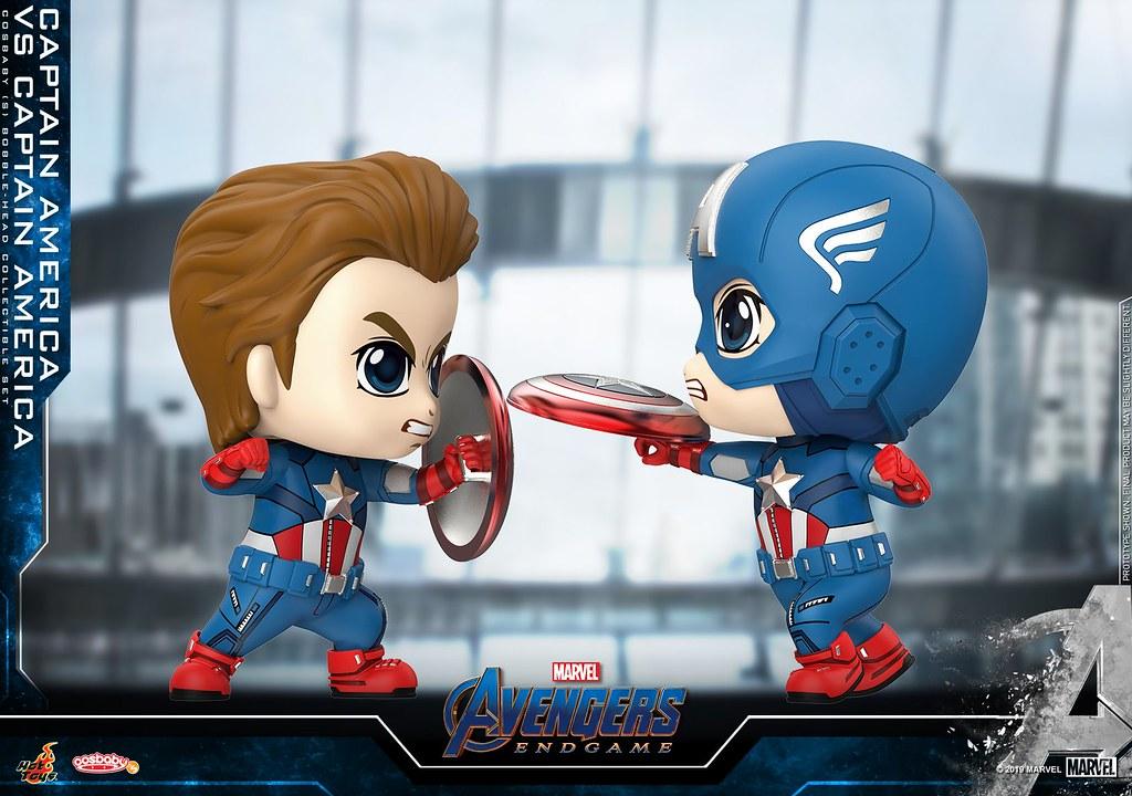 收錄各種讓人熱血沸騰、熱淚盈匡的場景! Hot Toys – COSB644 - COSB658 –《復仇者聯盟:終局之戰》Avengers: Endgame Cosbaby Bobble-Head
