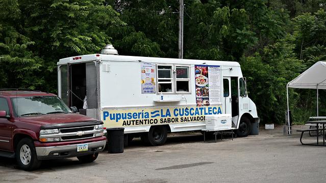 Pupuseria La Cuscatleca Truck in Des Moines, Iowa