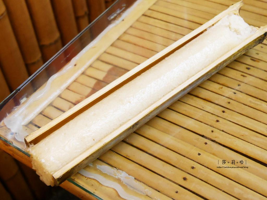 新北烏來山產料理餐廳推薦泰雅婆婆美食店竹筒飯 (6)