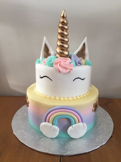 Unicorn Cake by Tara Melezko of Have Your Cake and Eat it Too