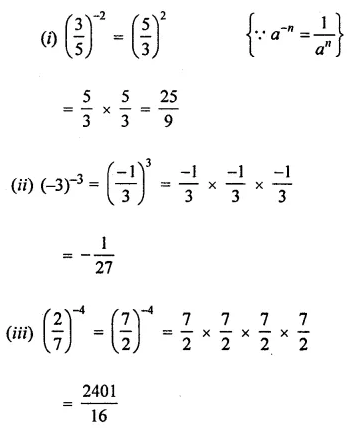 APC Maths Class 8 Solutions Chapter 2 Exponents and Powers Ex 2.1 Q1.1