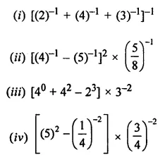 ICSE Understanding Mathematics Class 8 Solutions Chapter 2 Exponents and Powers Ex 2.1 Q2
