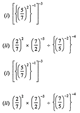 ICSE Class 8 Maths Book Solutions Free Download Pdf Chapter 2 Exponents and Powers Ex 2.1 Q6