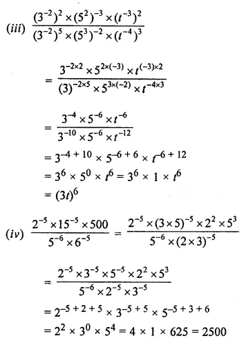 APC Maths Class 8 Solutions Chapter 2 Exponents and Powers Ex 2.1 Q9.2