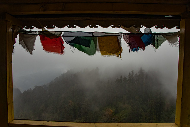 Montée à Gurung Hill