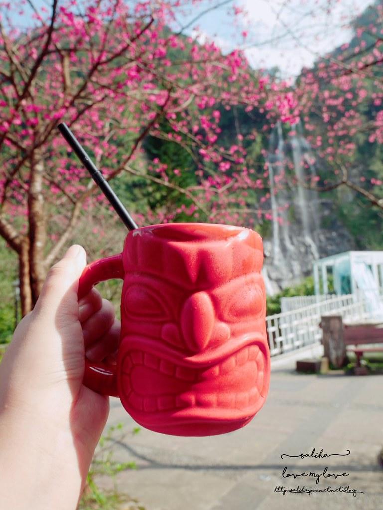 烏來櫻花瀑布景觀咖啡推薦