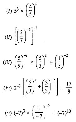 ICSE Understanding Mathematics Class 8 Solutions Chapter 2 Exponents and Powers Ex 2.1 Q8