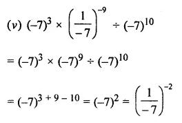 ICSE Mathematics Class 8 Solutions Chapter 2 Exponents and Powers Ex 2.1 Q8.3