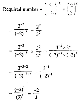 ICSE Understanding Mathematics Class 8 Solutions Chapter 2 Exponents and Powers Ex 2.1 Q10