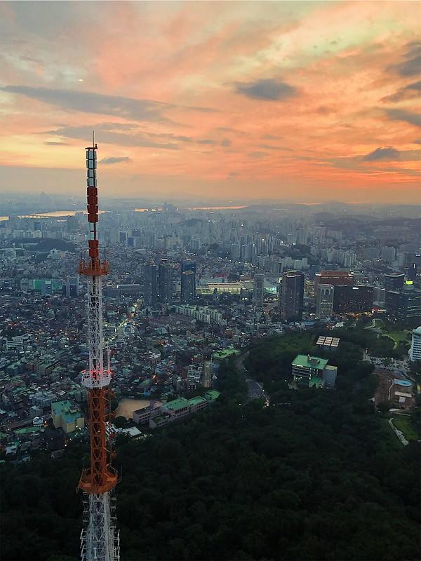 Seoul Namsan Tower View5962