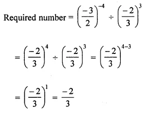 ML Aggarwal Maths for Class 8 Solutions Book Pdf Chapter 2 Exponents and Powers Check Your Progress Q10