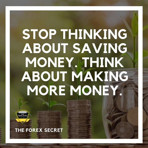 STOP THINKING ABOUT SAVING MONEY