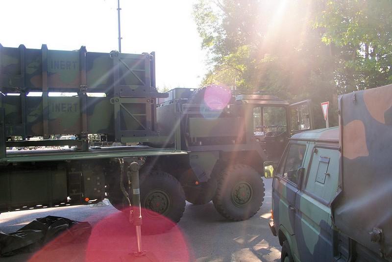Patriot Missile-Batterij 8