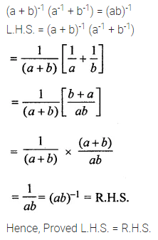 APC Maths Class 8 Solutions Chapter 2 Exponents and Powers Check Your Progress Q6