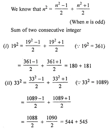 ML Aggarwal Class 8 Solutions Chapter 3 Squares and Square Roots Ex 3.2 Q8