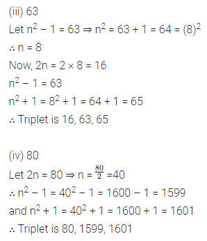 ICSE Mathematics Class 8 Solutions Chapter 3 Squares and Square Roots Ex 3.2 Q11.1