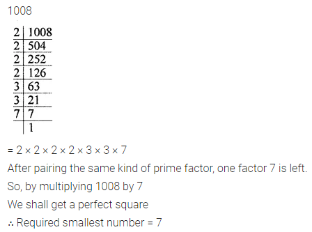 ICSE Mathematics Class 8 Solutions Chapter 3 Squares and Square Roots Ex 3.1 Q3