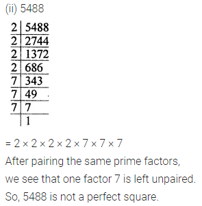 ML Aggarwal Maths for Class 8 Solutions Book Pdf Chapter 3 Squares and Square Roots Ex 3.1 Q1.1