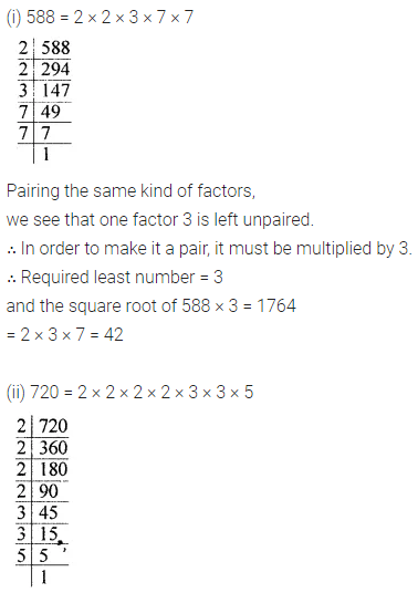 ML Aggarwal Class 8 Solutions Chapter 3 Squares and Square Roots Ex 3.3 Q4