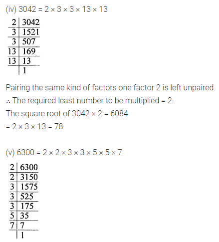 ICSE Understanding Mathematics Class 8 Solutions Chapter 3 Squares and Square Roots Ex 3.3 Q4.2