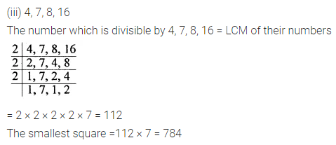 ICSE Understanding Mathematics Class 8 Solutions Chapter 3 Squares and Square Roots Ex 3.3 Q6.1