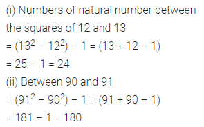 Maths Questions for Class 8 ICSE With Answers Chapter 3 Squares and Square Roots Ex 3.2 Q5