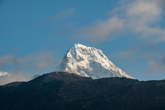 Du haut de Gurung Hill