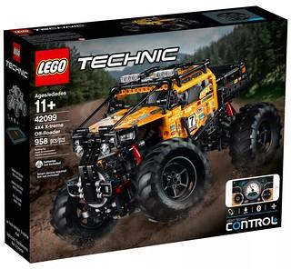 更加精準、豐富的操控體驗!! LEGO 42099 科技系列【4X4 X-treme Off-Roader】驅動你的越野魂~