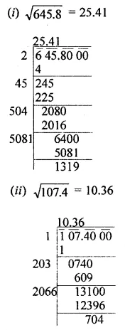 APC Maths Class 8 Solutions Chapter 3 Squares and Square Roots Ex 3.4 Q4