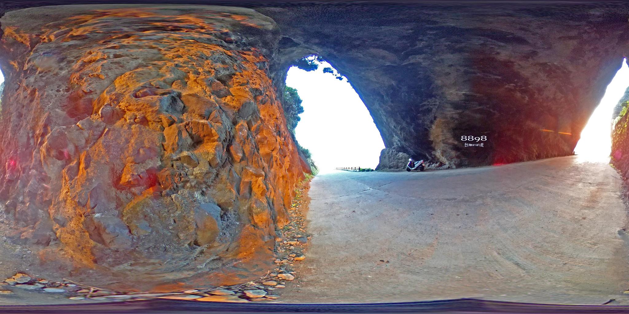 15蘭嶼紅頭岩夕陽