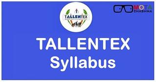 Tallentex syllabus 2020