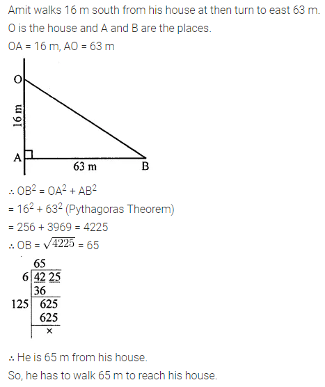 Maths Questions for Class 8 ICSE With Answers Chapter 3 Squares and Square Roots Ex 3.4 Q13
