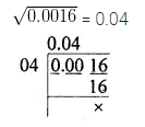ML Aggarwal Maths for Class 8 Solutions Book Pdf Chapter 3 Squares and Square Roots Objective Type Questions Q7